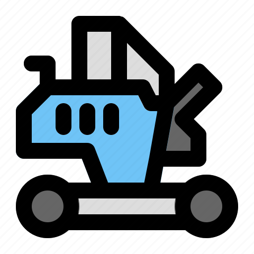 Construction, excavator, industrial, industry, project, site, work icon - Download on Iconfinder