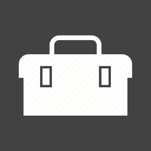 construction, engineer, equipment, tool box, tool kit, tools, worker icon