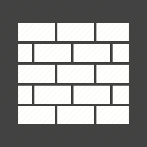 architecture, bricks, building, construction, house, stone, wall icon