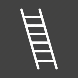 building, climb, construction, height, ladder, stairs, work icon