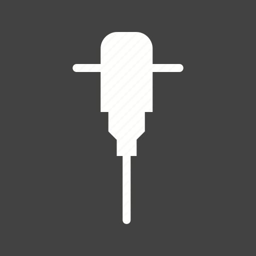 construction, drill, drill machine, driller, hammer, jack hammer, worker icon