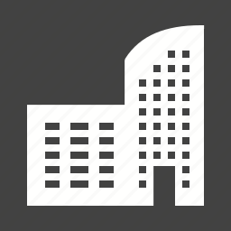 apartments, architecture, building, construction, institute, office, structure icon