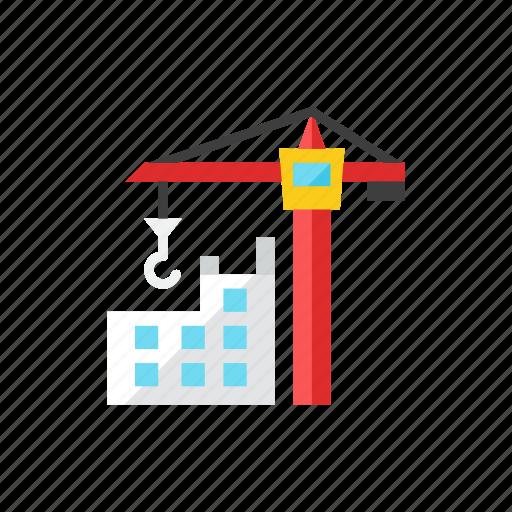 crane, tower icon
