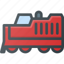 construction, industry, locomotive, shipping, tranportation icon