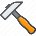 construction, hammer, industry, tool, tools icon