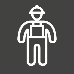 builder, construction, engineer, helmet, labor, man, worker icon