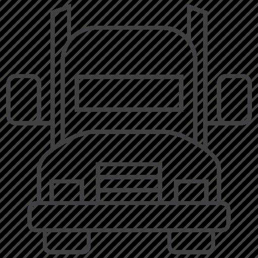 automobile, heavy, transport, truck icon