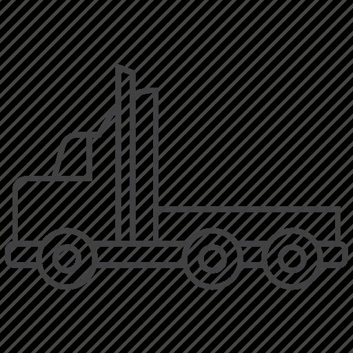 automobile, heavy, truck, vehicle icon