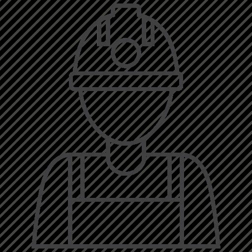 Miner, builder, construction, worker icon - Download on Iconfinder