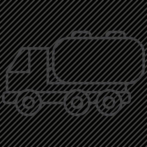 fuel, oil, tanker, truck icon