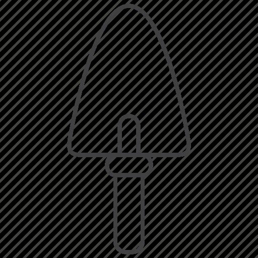 construction, spatule, tool, trowel icon