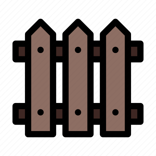 construction, fence, fencing, wooden icon