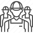 avatar, male, man, portrait, profile, social, worker icon