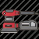 carpenter, electric, machine, sander, woodwork