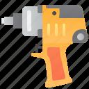 air, equipment, pneumatic, repair, tools icon
