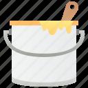 bucket, color, decoration, paint, renovation