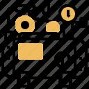 air, compressor, engine, pressure, pump icon