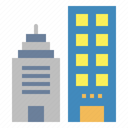 Buildings, city, construction, urban icon - Download on Iconfinder
