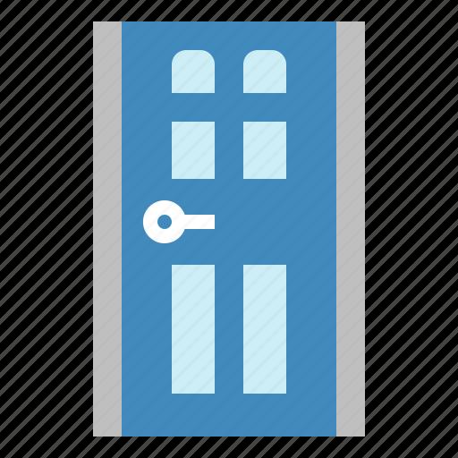 buildings, construction, door, furniture icon