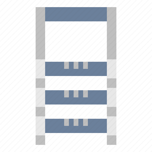 construction, ladder, stairs, vertical icon