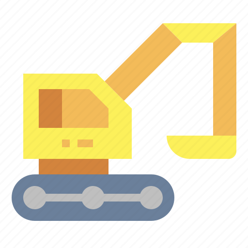 construction, loader, transport, truck icon