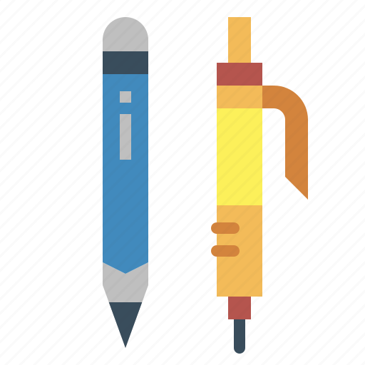 office, pencil, school, writing icon
