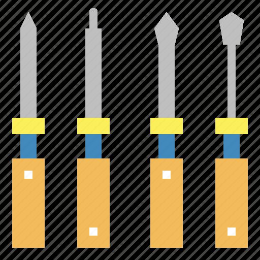 mechanic, repair, screwdriver, tool icon