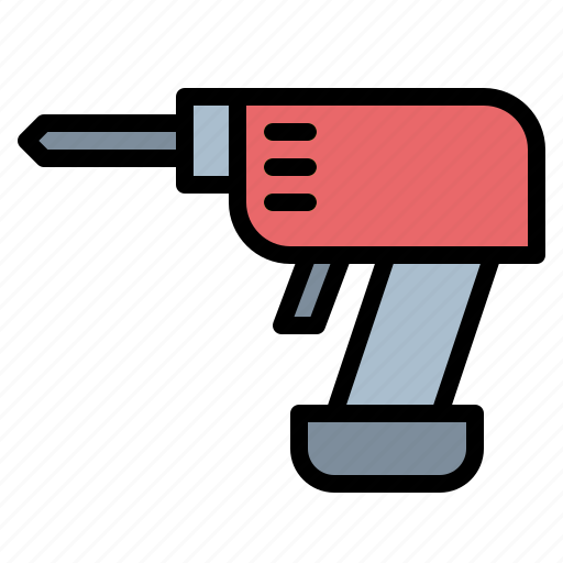 drill, driller, maintenance, repair icon