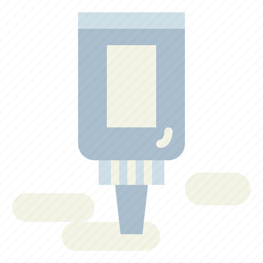 bottle, glue, liquid, tools icon