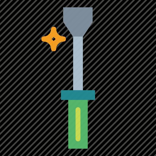 construction, home, improvement, repair, screwdriver icon