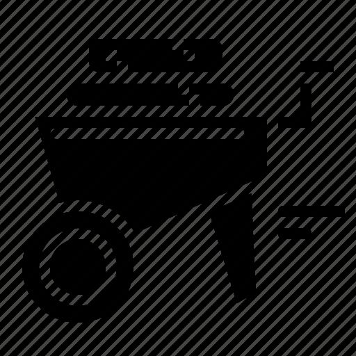Cart, gardening, trolley, wheelbarrow icon - Download on Iconfinder