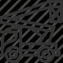 build, constuction icon, elevator, heavy, industrial elevator, transportation icon