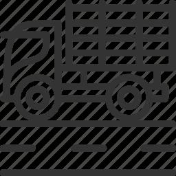 build, car icon, construction, transportation, truck, vehicle icon icon