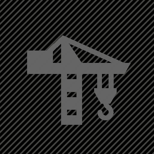 building, construction, crane, engineering, equipment, heavy, special icon