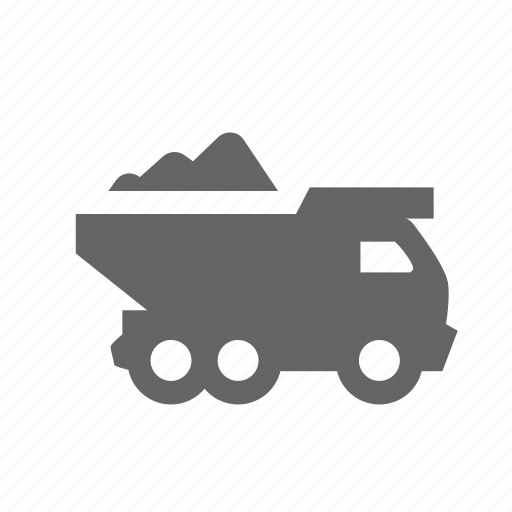 car, construction, lorry, machinery, tipper, transportation, vehicle icon