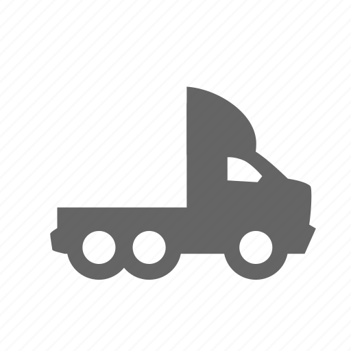 car, machine, trailer, transportation, truck, vehicle, without icon