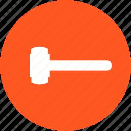 construction, demolition, equipment, hardware, sledge hammer, tool, work icon