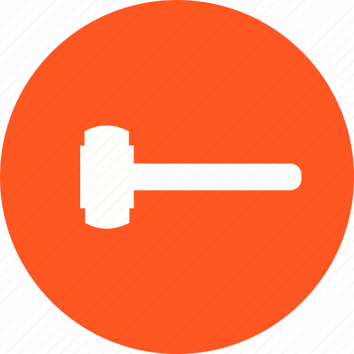 Construction, demolition, equipment, hardware, sledge hammer, tool, work icon - Download on Iconfinder