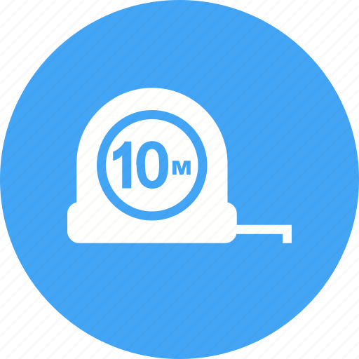 Building, construction, equipment, measurement, measuring tape, scale, tool icon - Download on Iconfinder