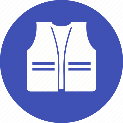 construction, engineer, jacket, protect, safety, vest, worker icon