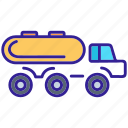 cargo, construction, lorry, truck, vehicle icon