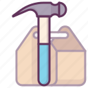 building, construction, construction tools, hand tool, repair tools, work icon