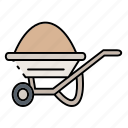 construction, house, tool icon