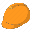 building, construction, helmet, man icon