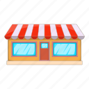 building, city, shop, store icon