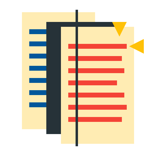 paper, sheet, templet, text, tooling icon