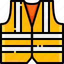 construction, lifejacket, lifesaver, security, vest