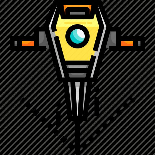 Drill, jackhammer, motor, repair, repairing, work, working icon - Download on Iconfinder
