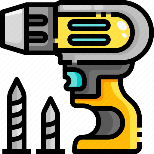 Drill, driller, drilling, equipment, maintenance, repair, reparation icon - Download on Iconfinder