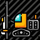 construction, drilling, machine, surface, transport, transportation, vehicle